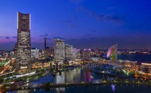 Yokohama by night
